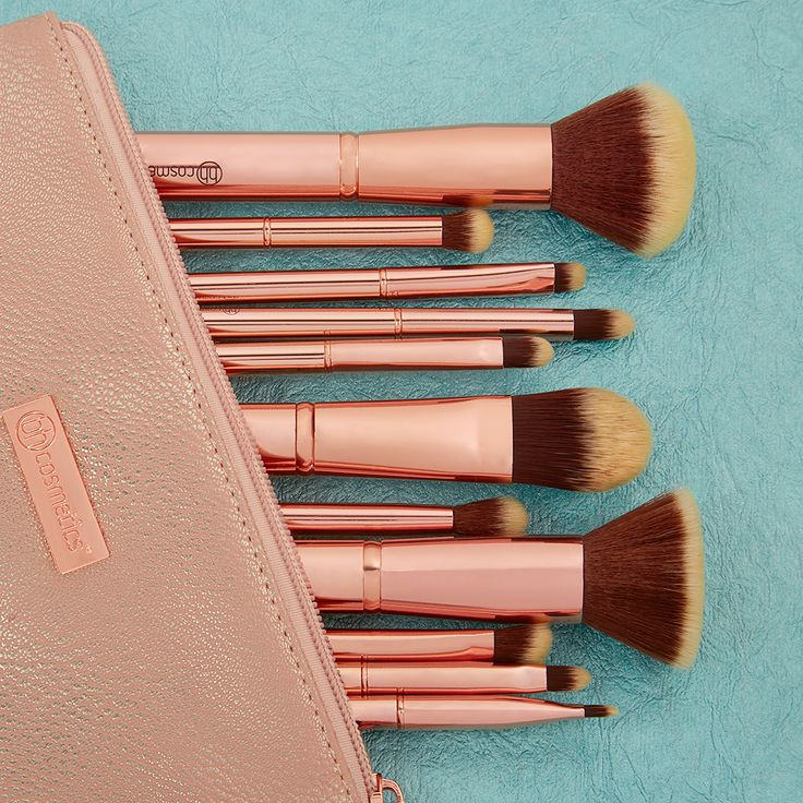 Our Metal Rose Brush Set features synthetic, soft bristles for just $20