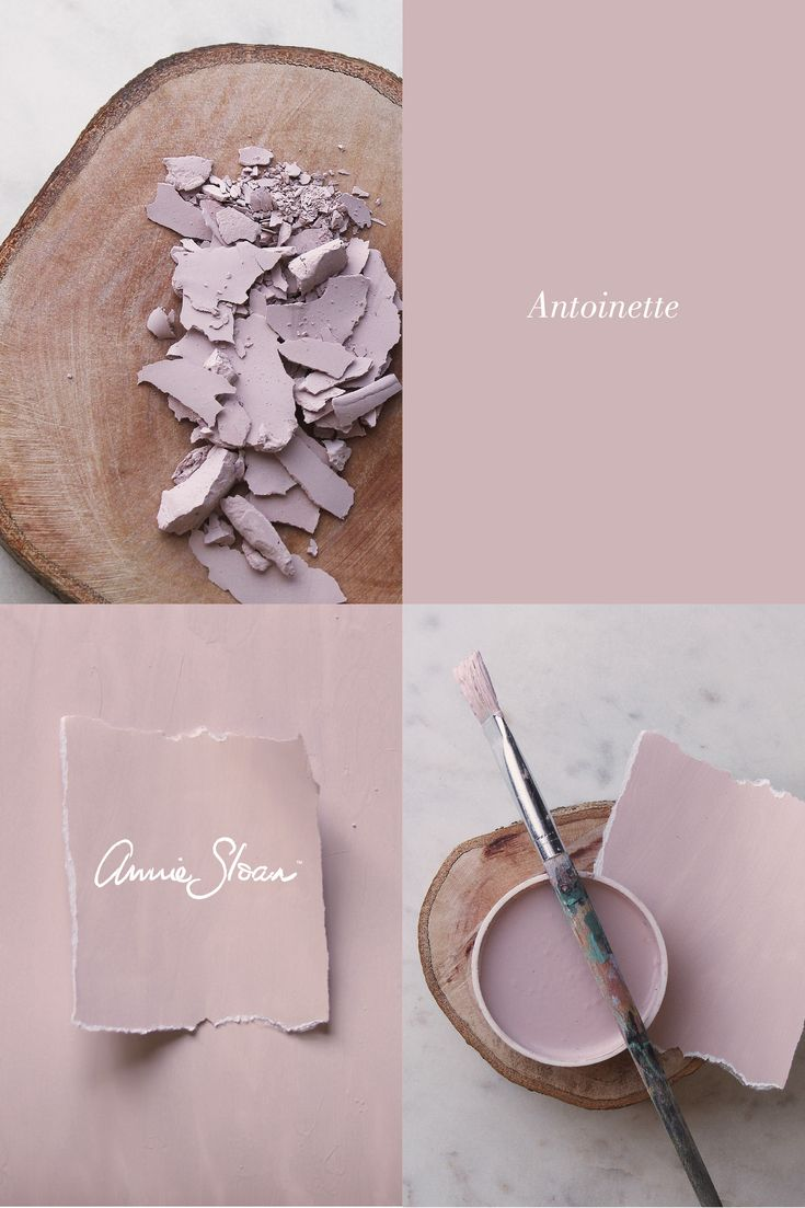 The very pretty paint colour - Antoinette by Annie Sloan