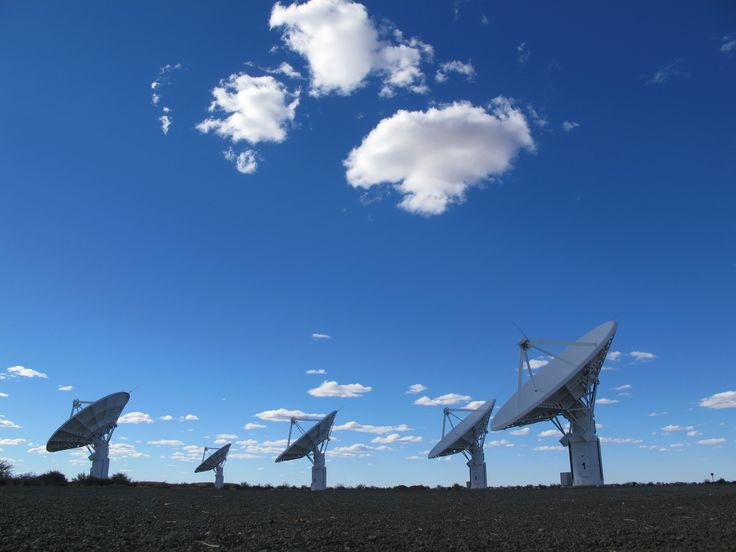 Square Kilometer Array (SKA project) at Carnarvon, Northern Cape, South Africa. Photo: Julian Jansen
