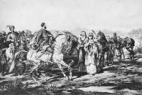Przygoda w drodze do Łubniów 1885.