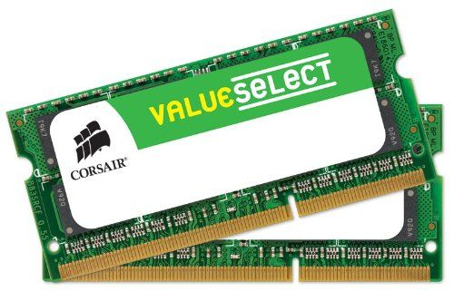 Corsair 16 GB (2x8 GB) DDR3 1600MHz (PC3 12800) Laptop Memory CMSO16GX3M2A1600C11    . Limited Lifetime Warranty. Density: 16GB (2x8GB). But not all computers are put to such extreme usage. Timing: 11-11-11-28. Backed with a lifetime warranty, it is memory you can rely on. Speed: 1600MHz. Item dimensions: (width: 110), (height: 8) hundredths-inches. So we brought the same reliability, testing and Corsair quality to a line of memory designed to support standard computing situations...