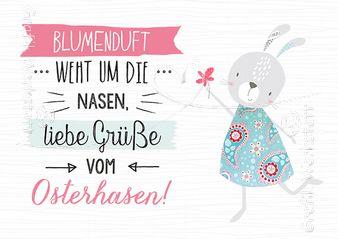 Osterhasen - Postkarten - Grafik Werkstatt Bielefeld