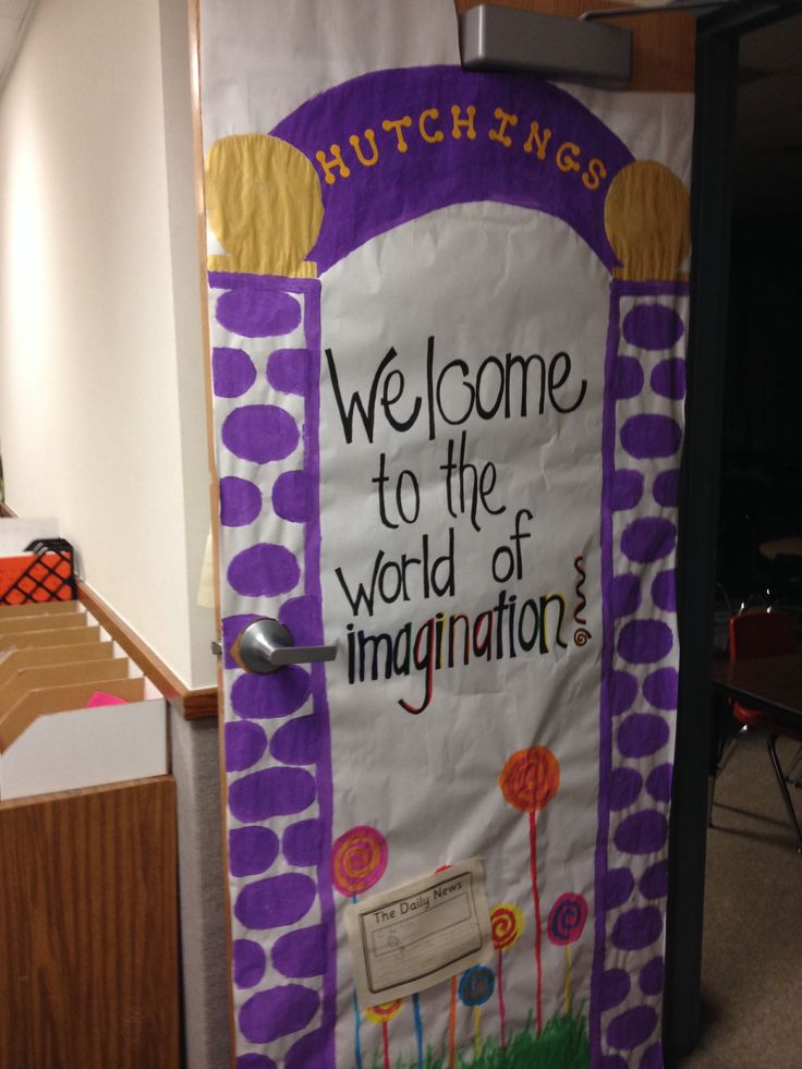 Willy Wonka Teacher Appreciation Door Teacher