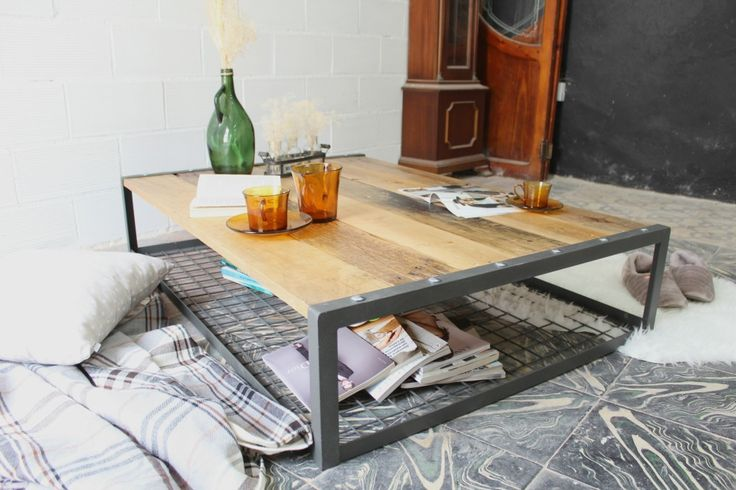 25+ best Muebles madera reciclada images on Pinterest | Diner table ...