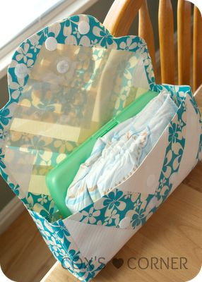 How to Make a Duck Tape Diaper Clutch | Cox's Corner