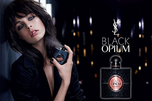 Эди Кэмпбел YSL Black Opium