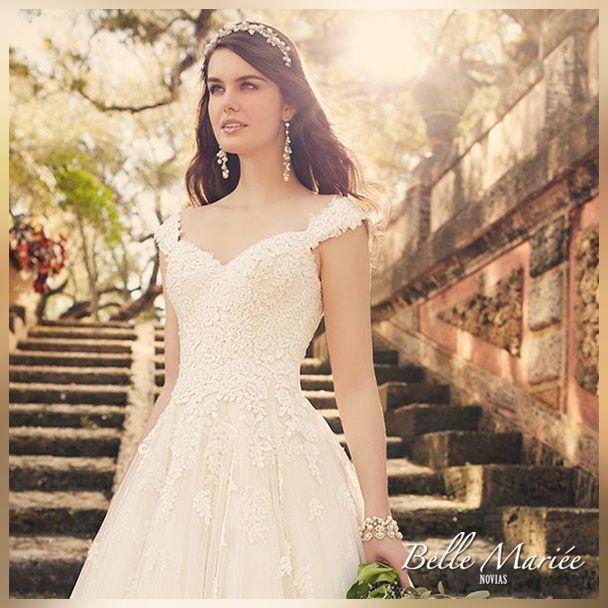 120 besten Vestidos de novia Corte en A ❤ Bilder auf Pinterest ...