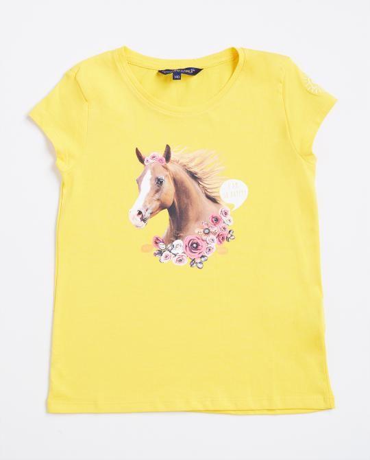 geel-t-shirt-met-paardenprint-i-am