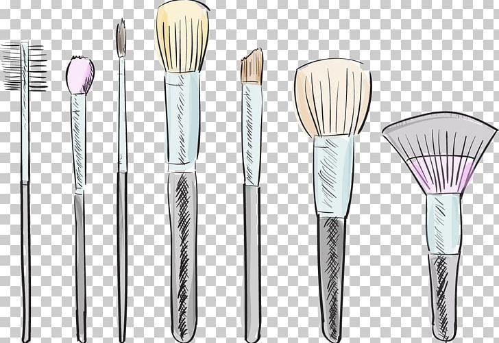 Makeup Brush Cosmetics Drawing Illustration Png Brush Brush Stroke Brush Vector Cartoon Fashion Brush Stroke Png Makeup Brushes Drawing Illustration