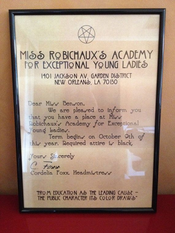 american horror story letters 63 best images about miss robichaux s academy for 470