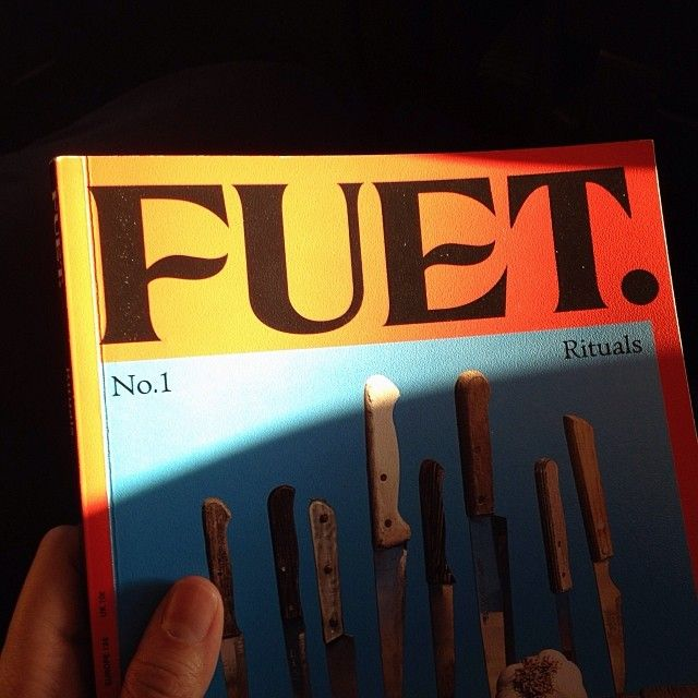 #fuetmagazine #food #journal #magazines