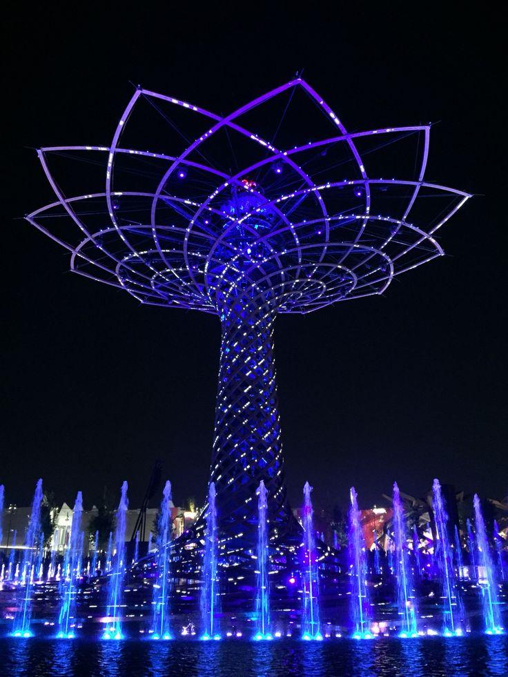 L'albero della vita  #Milano #Expo2015