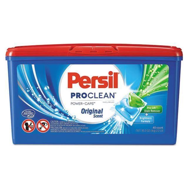 Proclean Power Caps Detergent Capsules Original Scent 40 Box 6