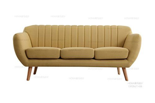 Container Furniture Direct S5351 S Marilyn Sofa Naples Yellow