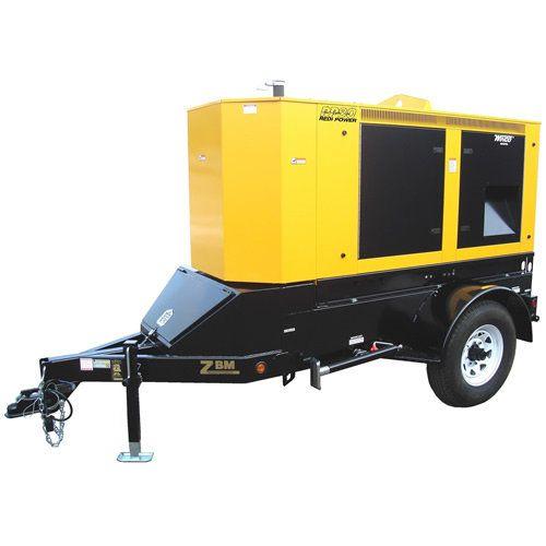 Winco RP80 Diesel 65kW Industrial Towable Diesel Generator with Review Buy Now