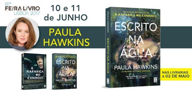 Sinfonia dos Livros: TopSeller   Feira do Livro Lisboa  Paula Hawkins s...