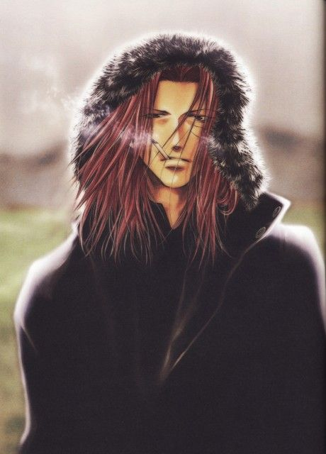 Kazuya Minekura, Studio Pierrot, Saiyuki, Salty Dog V, Sha Gojyo - one of my most favorite anime characters EVER!