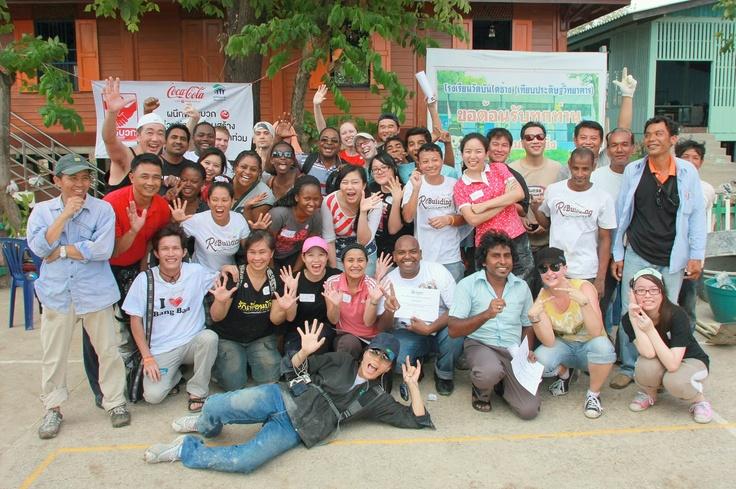 Volunteered with Habitat For Humanity, Thailand!Habitat For Human