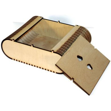 living hinge keepsake box by Catter Wallin $95