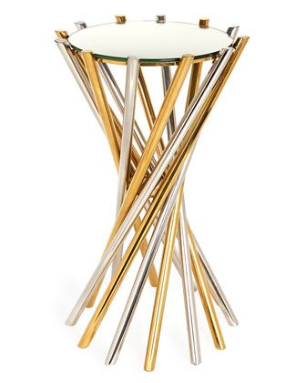 Electrum+Accent+Table+by+Jonathan+Adler+at+Neiman+Marcus.
