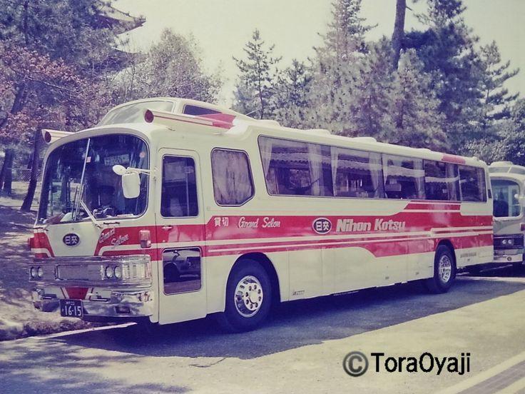 ボード「日本交通(大阪鳥取米子)山陰特急バス 捕車便」のピン