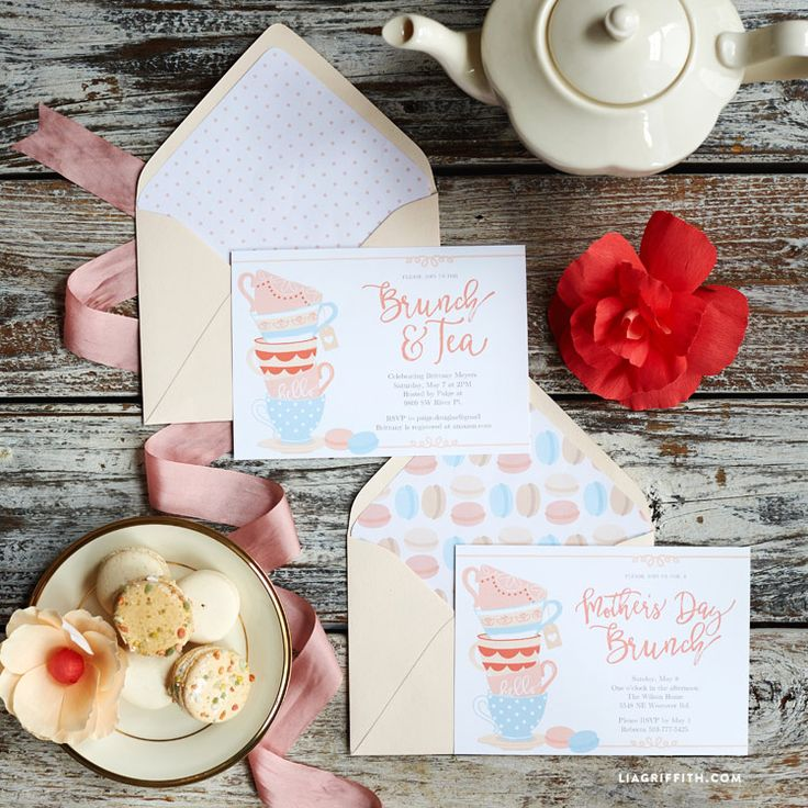 Mother's Day Invitations