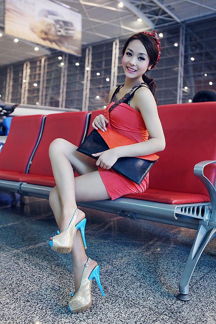hot naked girls with high heels
