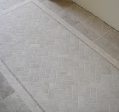 9 Best Images About Tile Rug Inlays On Pinterest White