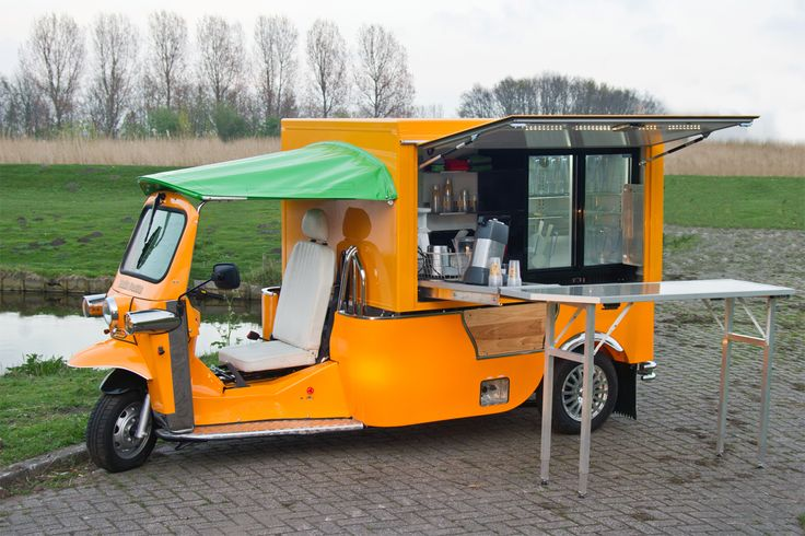 food carts for sale | DesignApplause | Electric food trucks are almost here.