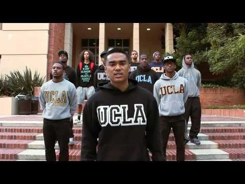 """The Black Bruins"" is a spoken-word piece that raises awareness about the underrepresentation of African-American males in UCLA's student body. 