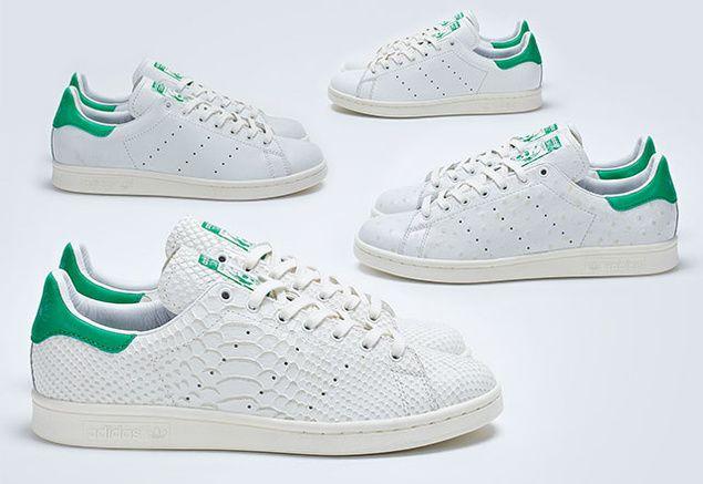 Adidas décline sa célèbre Stan Smith en 4 cuirs exclusifs