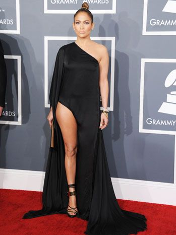 Jennifer Lopez in Anthony Vaccarello gown