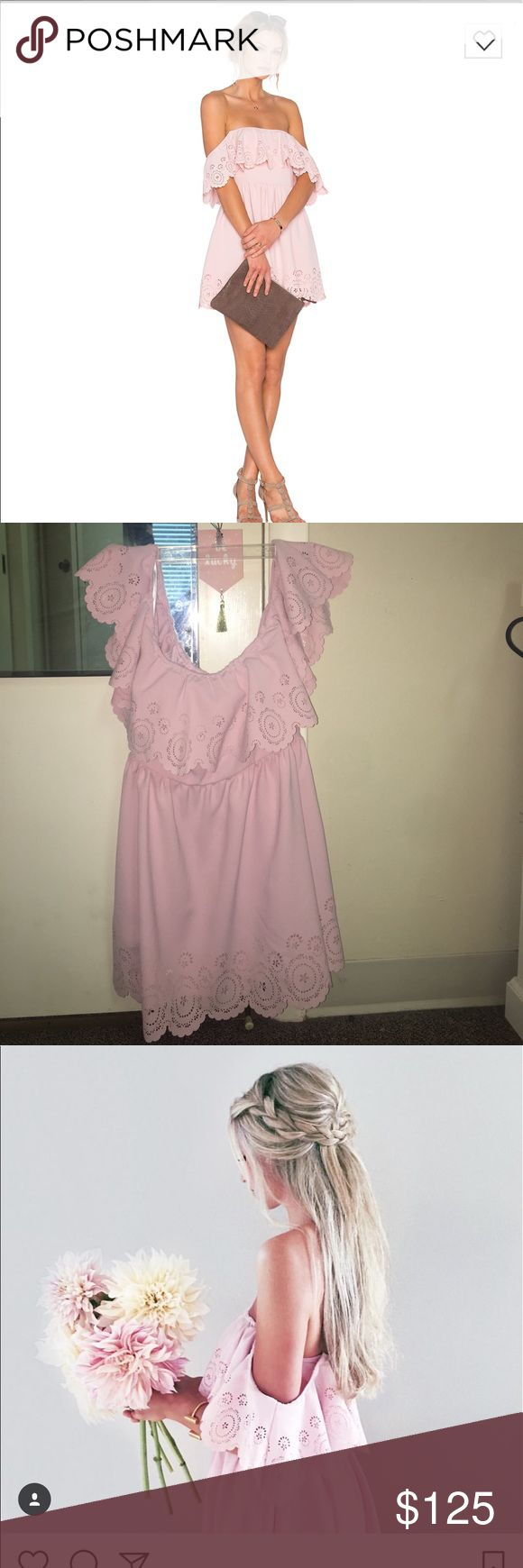 Lovers and friends dream vacay dress Strapless dress, never worn completely brand new! Just no tag. Sold out online in this color, can find the dress on revolve in other colors to see price and fit Lovers + Friends Dresses Strapless