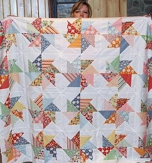 great pinwheel quilt