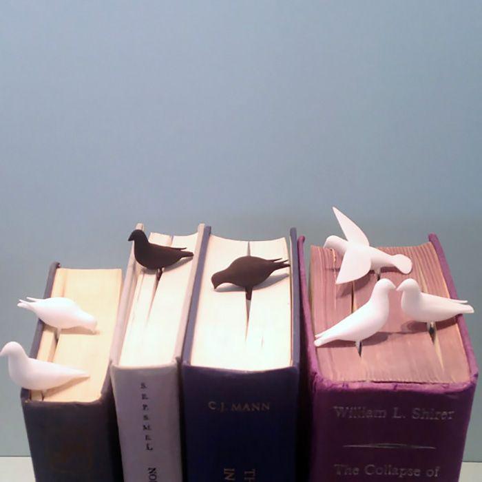 Presentes perfeitos, esses marcadores de livros criativos também são uma maneira lúdica de incentivar crianças em suas primeiras leituras.
