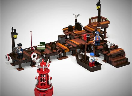 Old fishing store fishing store lego ideas and lego for Lego old fishing store