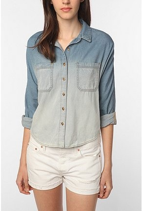 Denim shirts are the best.