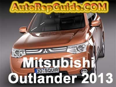 Download free - Mitsubishi Outlander 2013 repair manual: Image:… by autorepguide.com