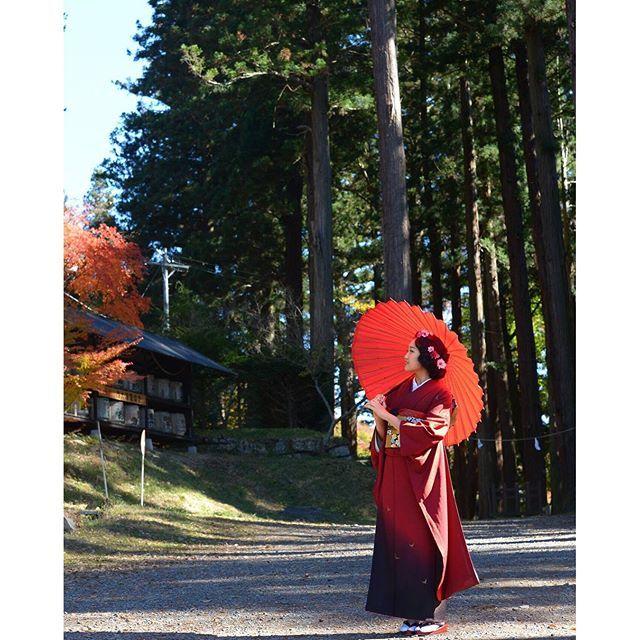 【kimono.project.v】さんのInstagramをピンしています。 《凛と🌸  #成人式前撮り#成人式#ハタチ#アート#前撮り#20#振袖#かわいい#大学生#ファッション#着物#キモノ#お洒落#一生に一度#思い出#和装#和装ヘアアレンジ#メイク#ヘアスタイル#ヘアアレンジ#アップスタイル#キラキラ#art#fashion#pic#森林#赤》
