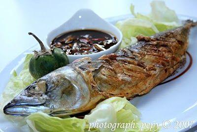 Ikan Makarel Panggang