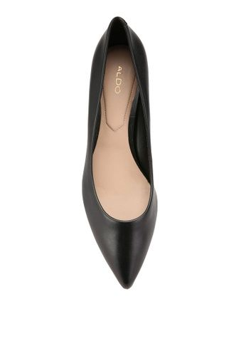 - Smooth finish solid hue pumps- Cow leather upper- Sheep leather insole- Synthetic outsole- Heel height: 5.5cm/2.17'- Pointed toe
