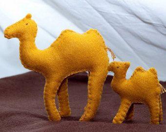felt camel, felt toys, natural toys, stuffed animal, Waldorf toy, Waldorf doll, felt animals, biblical animals toys, Father's day gift