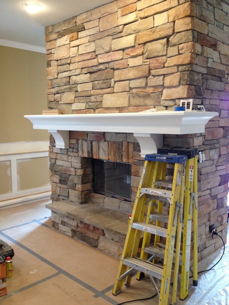 HOW TO ON THIS FIREPLACE MANTEL