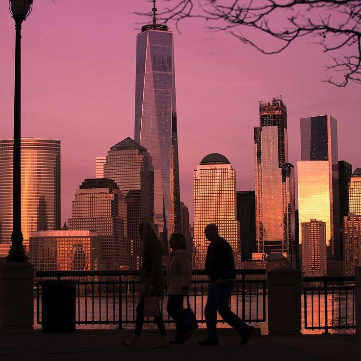 World Trade Center from NJ by Mark Katz Photography