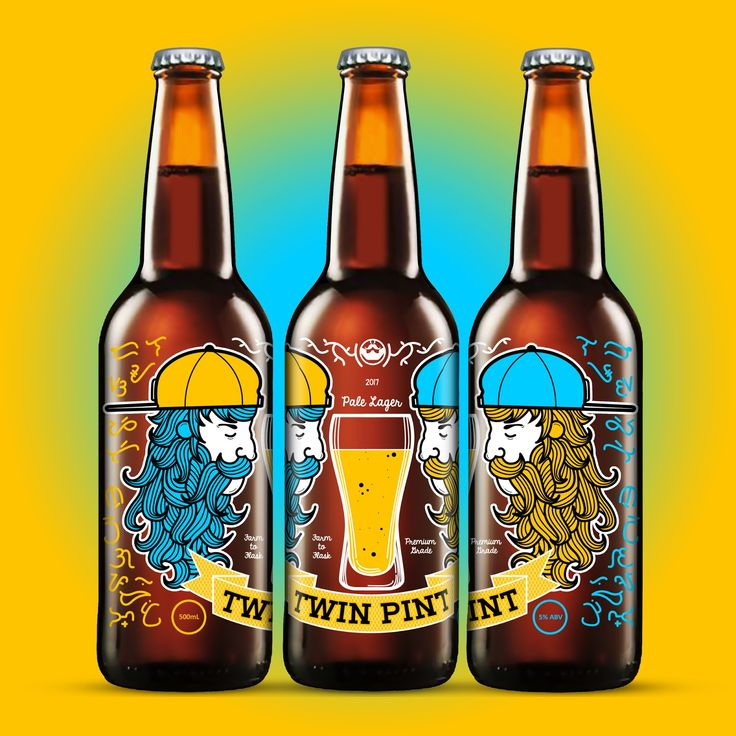 Twin Pint on Packaging of the World - Creative Package Design Gallery