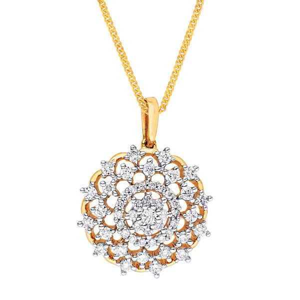 Katrina's Favourite - Nakshatra Diamond Pendant NPA513SI-GH-K
