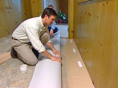 How to lay vinyl flooring:  FOR THE NEW LIFE CONCESSION BOOTH!  WHO WANTS TO HELP???