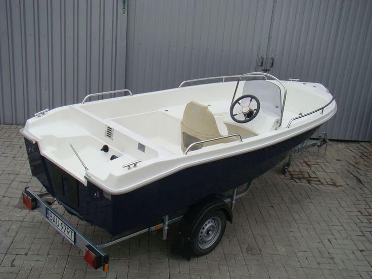 Łódź motorowa Romana 460 FISH