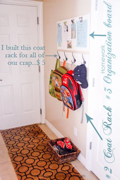 LOTS of great home organizational ideas for parents to help simplify your life. LOVE this!!!
