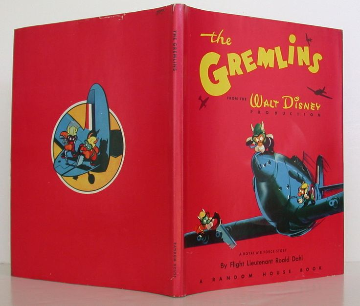 ROALD DAHL The Gremlins FIRST EDITION BOOK FINE IN FINE DJ